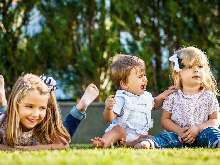 FOTOGRAFíA INFANTIL EN EL JARDÍN