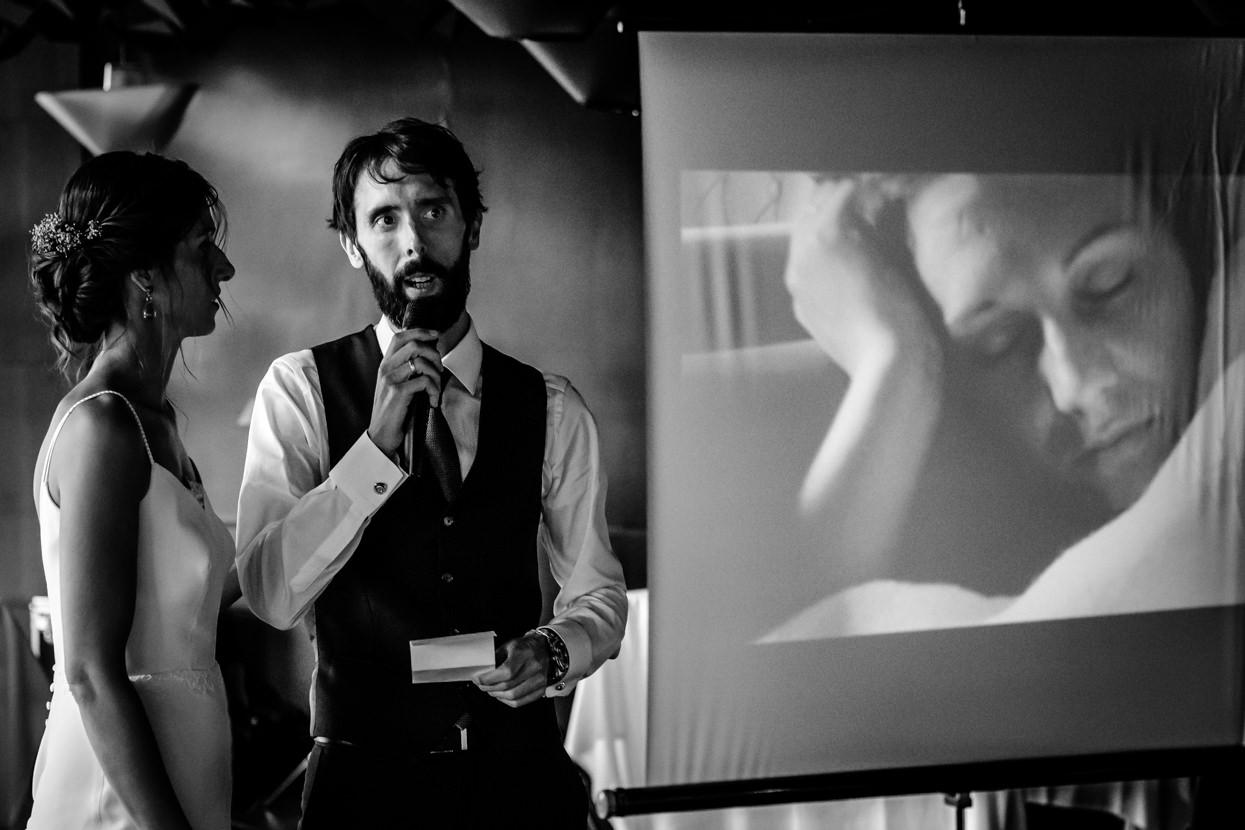 Discurso de boda en restaurante Nineu
