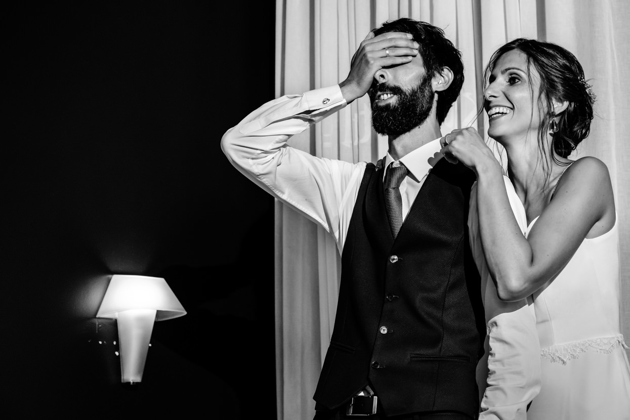 Video sorpresa en boda en Nineu