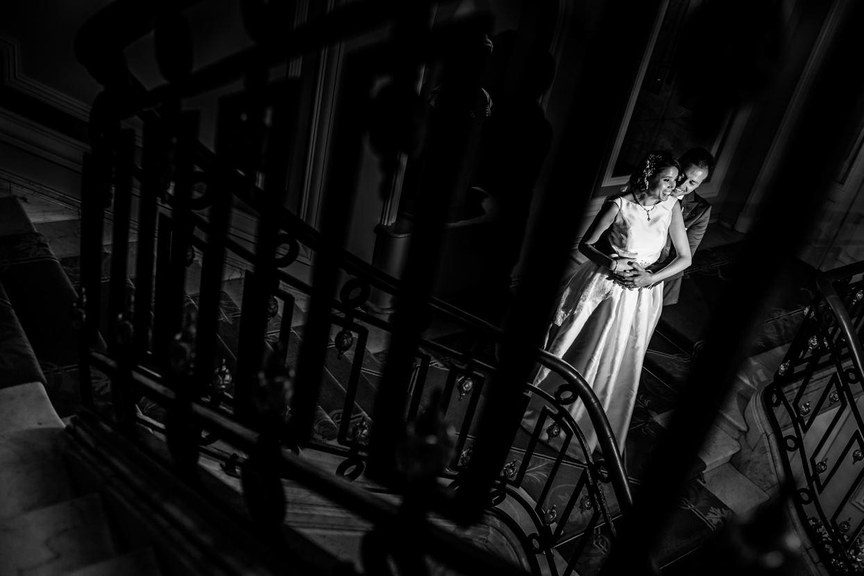 Fotografía de pareja en el hotel María Cristina