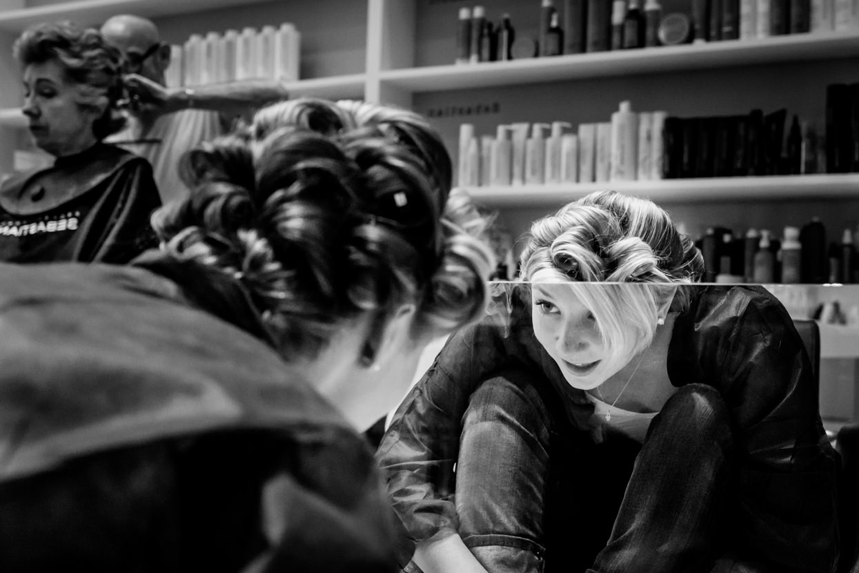 boda en gipuzkoa en finca en igeldo jugando con espejos