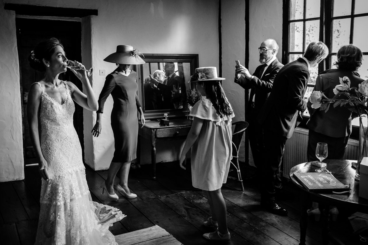 Preparativos de boda en finca Machoenia