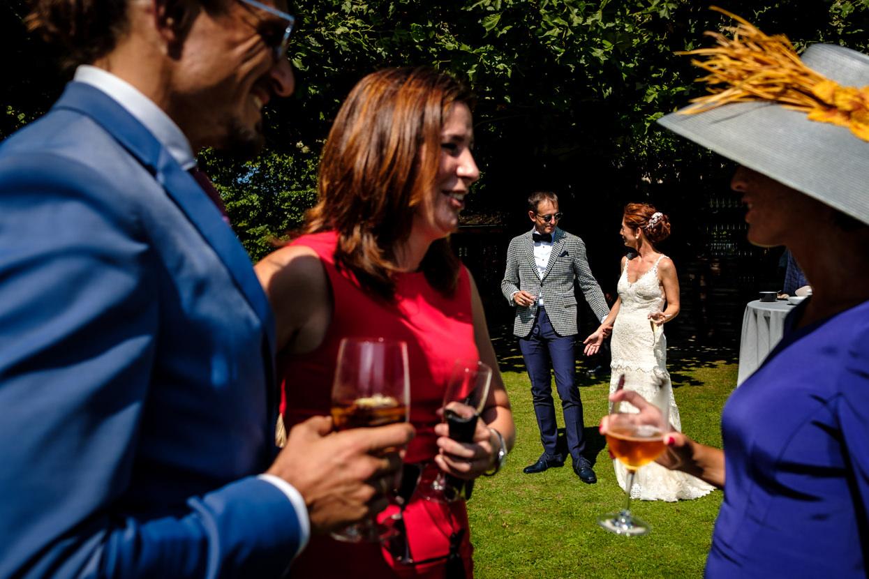 Cóctel de boda. Grupo Bokado