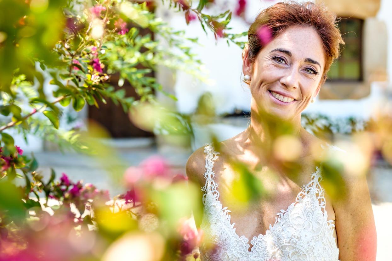 Retrato de novia en Machoenia