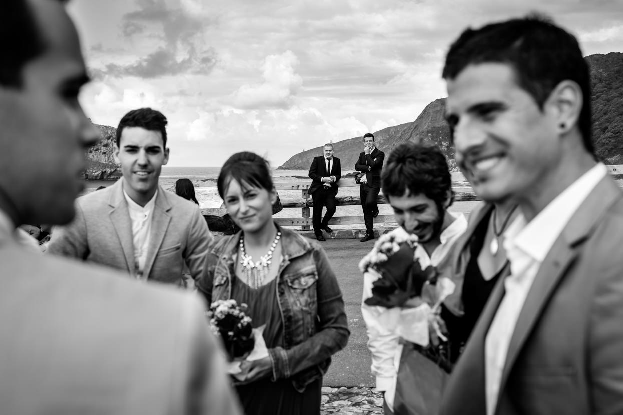 Invitados de boda en Gaztelugatxe