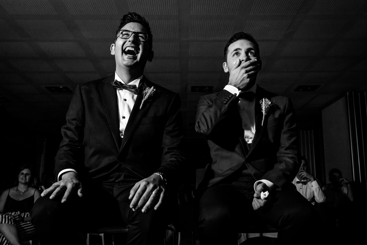 Sorpresa de novios en boda en Navarra