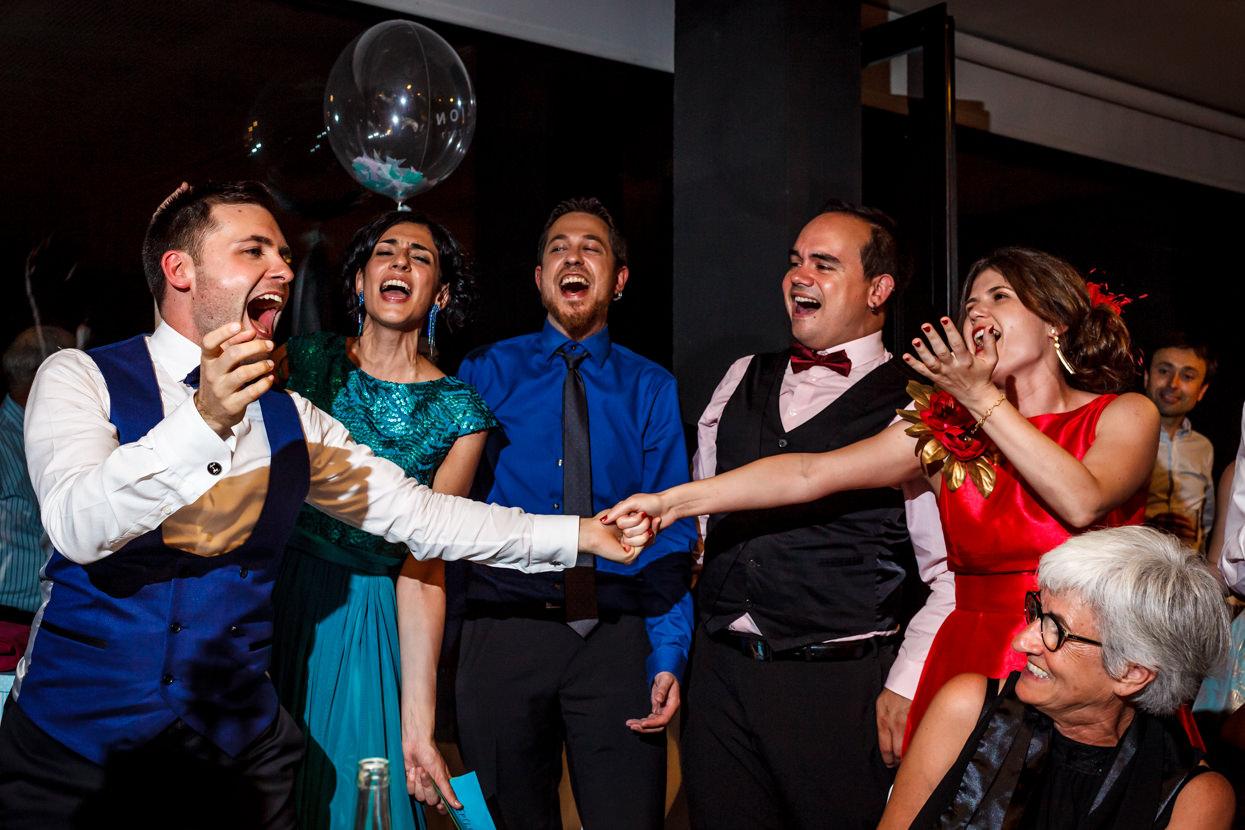 Sorpresas de invitados de boda en Navarra