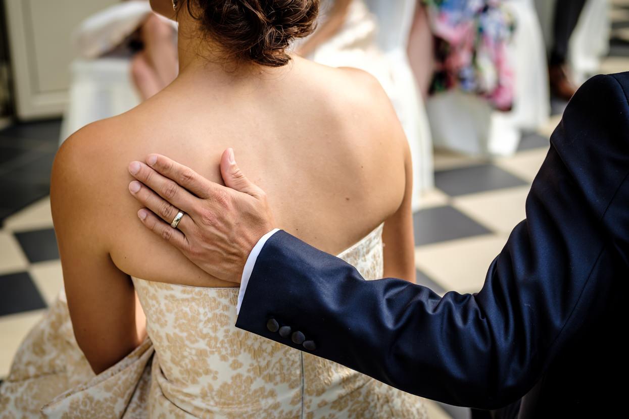Detalle de boda en San Sebastián. Anillos