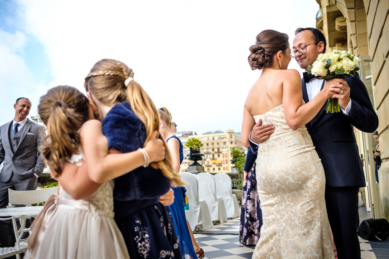 Baile de novios en hotel María Cristina