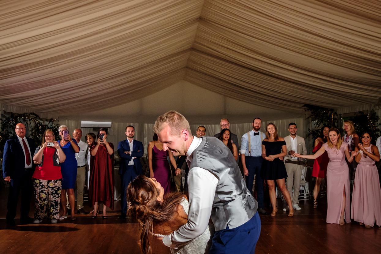 Primer baile de boda en Itxasbide