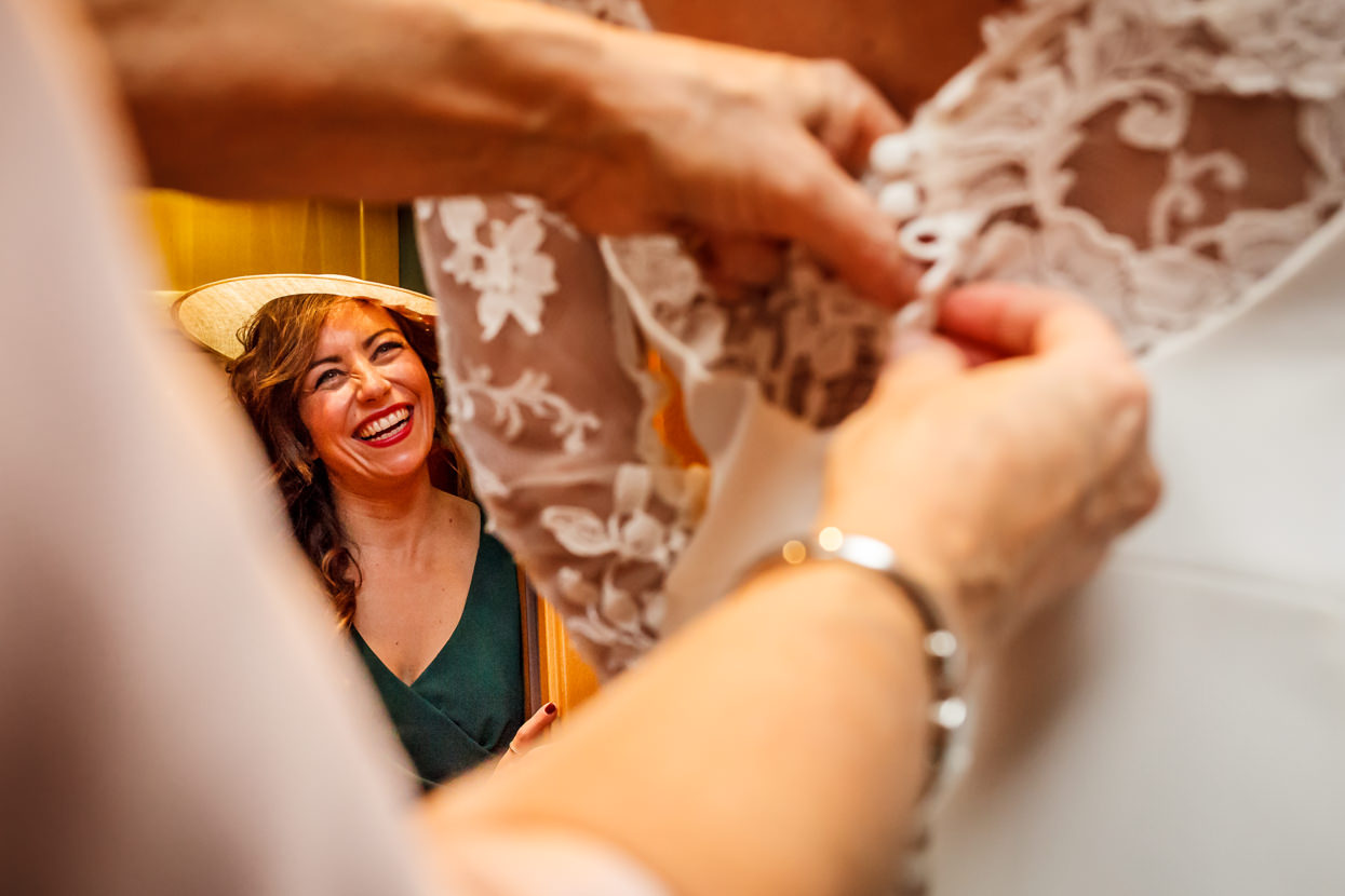Preparativos de boda en Hondarribia