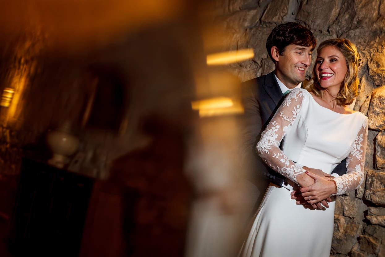 Reportaje de pareja de boda en Hondarribia