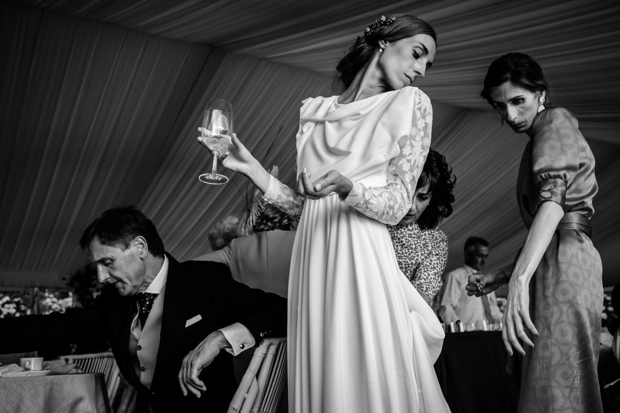 Novia y vestido de boda