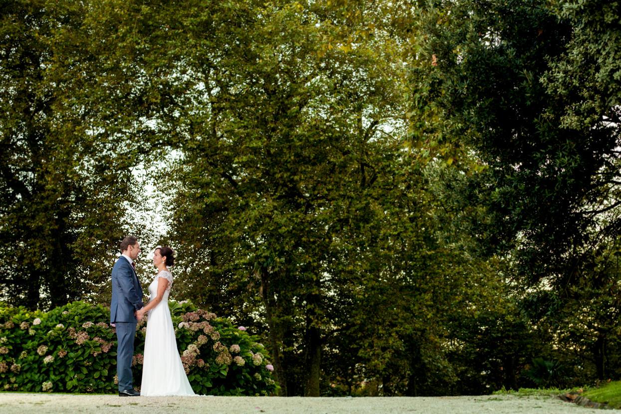 Fotógrafo de boda en Gipuzkoa. Palacio Miramar
