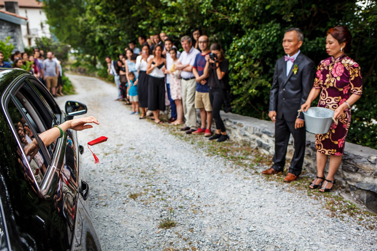 detalle de ceremonia de boda en navarra