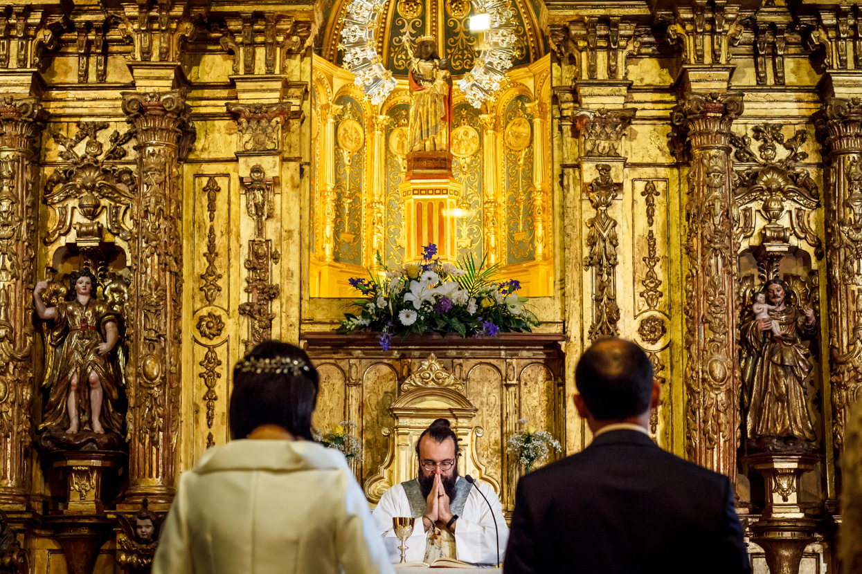 Ceremonia de boda en Guadalupe Hondarribia