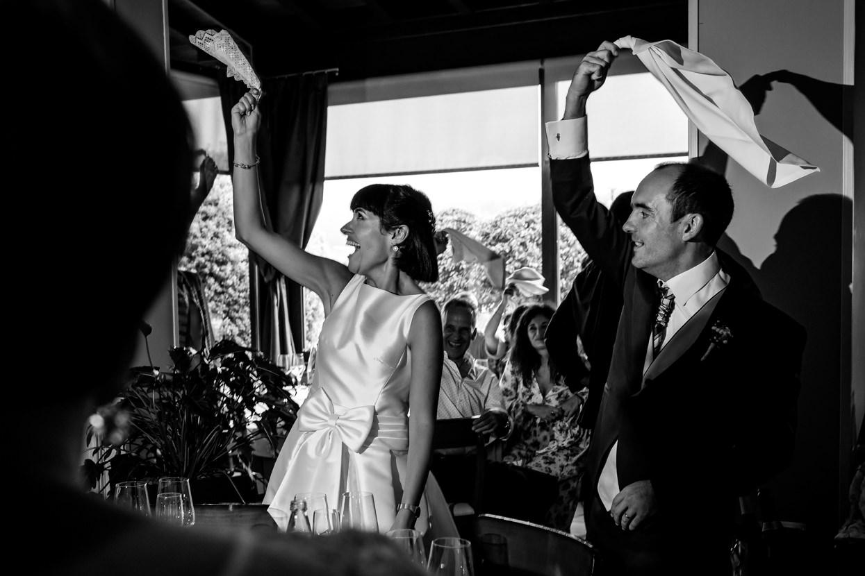 Banquete de boda en restaurante Alameda