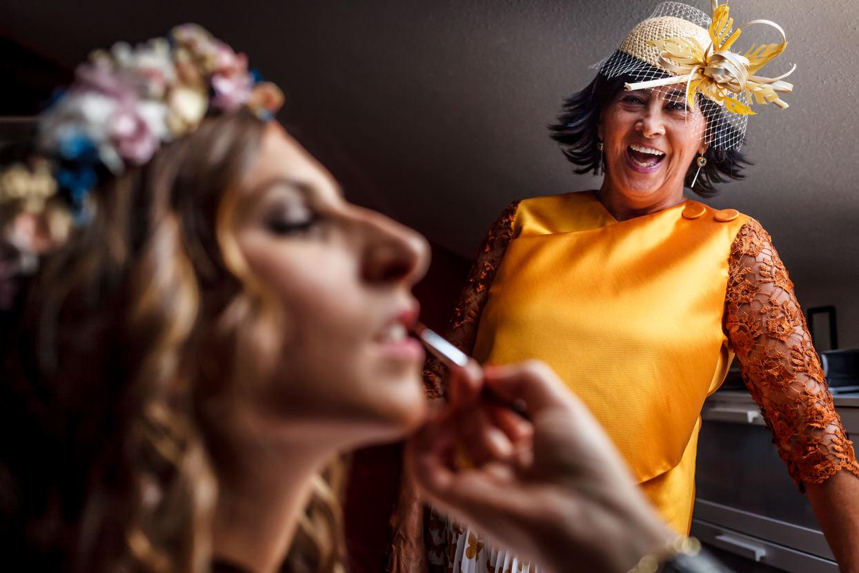 Madre de la novia. Fotógrafo de boda en Bizkaia