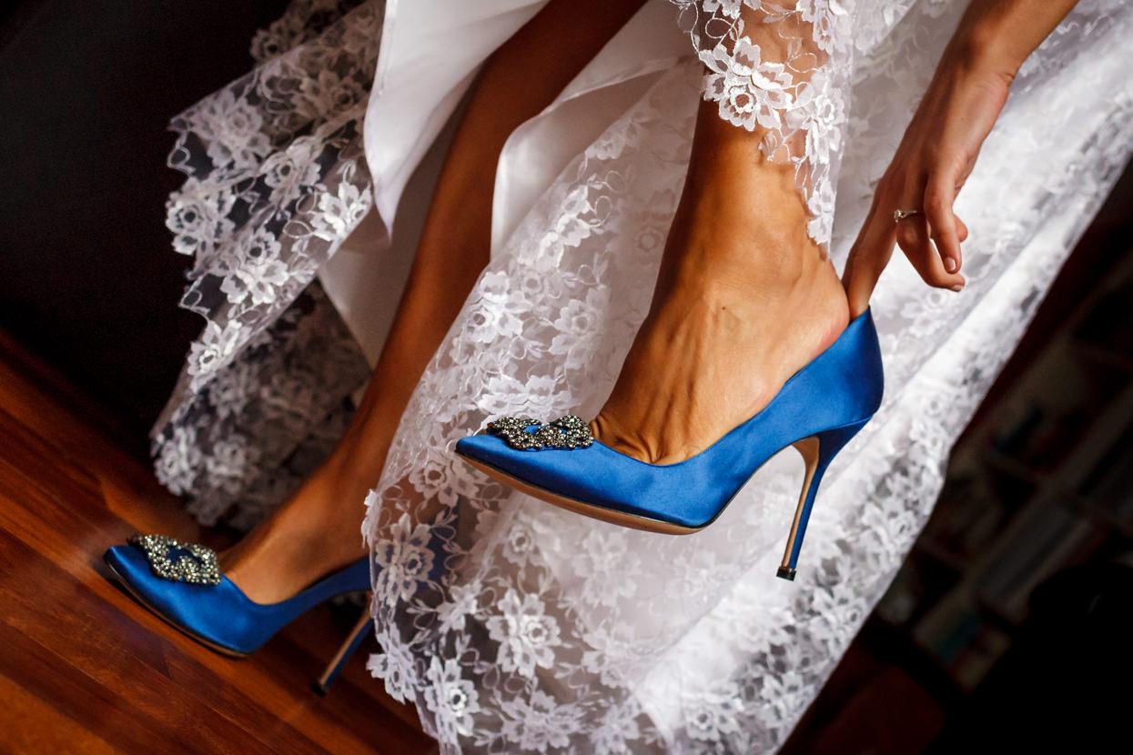 Zapatos de novia. Manolo Blahnik
