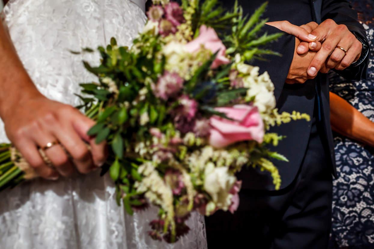 Anillos de boda en Sopelana