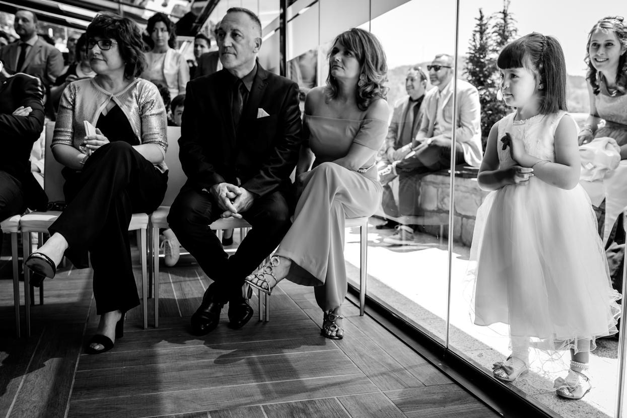 Invitados de boda en Zarautz
