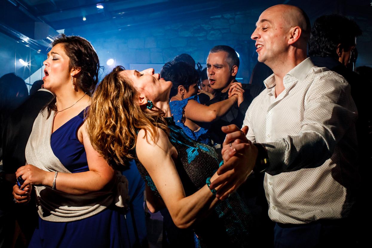Fiesta de boda en Zarautz