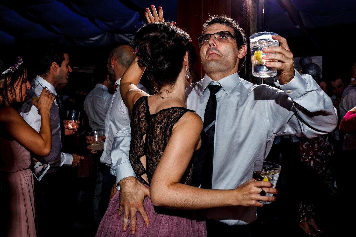 Invitados de boda en el hotel Jaizkibel