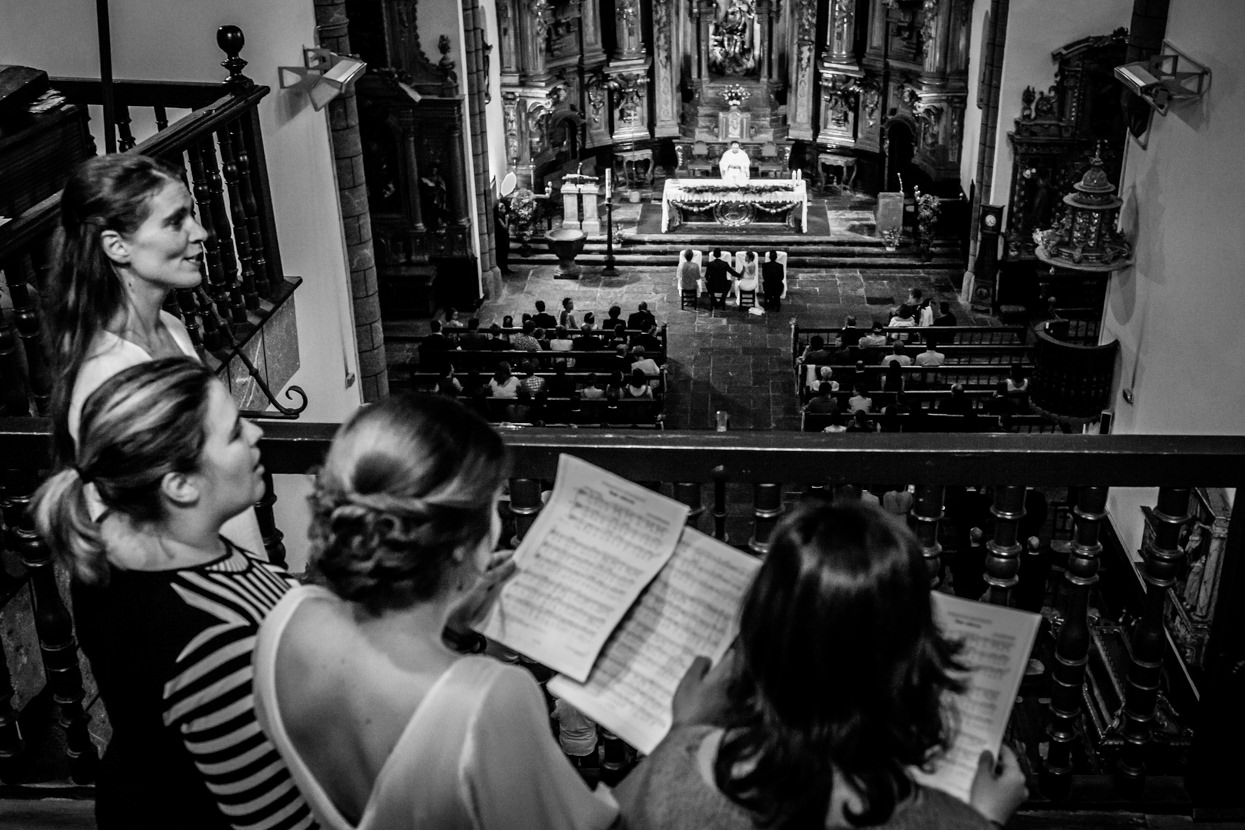 Ceremonia religiosa de boda en Amasa