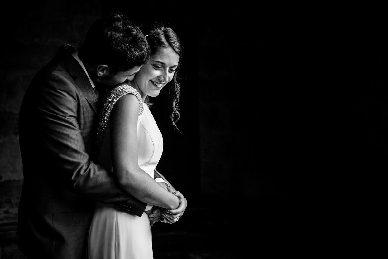 Foto de pareja de boda en Amasa