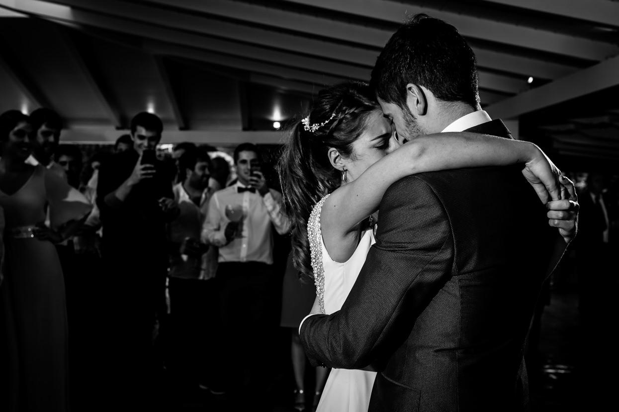 Primer baile de novios en boda en Atalaia