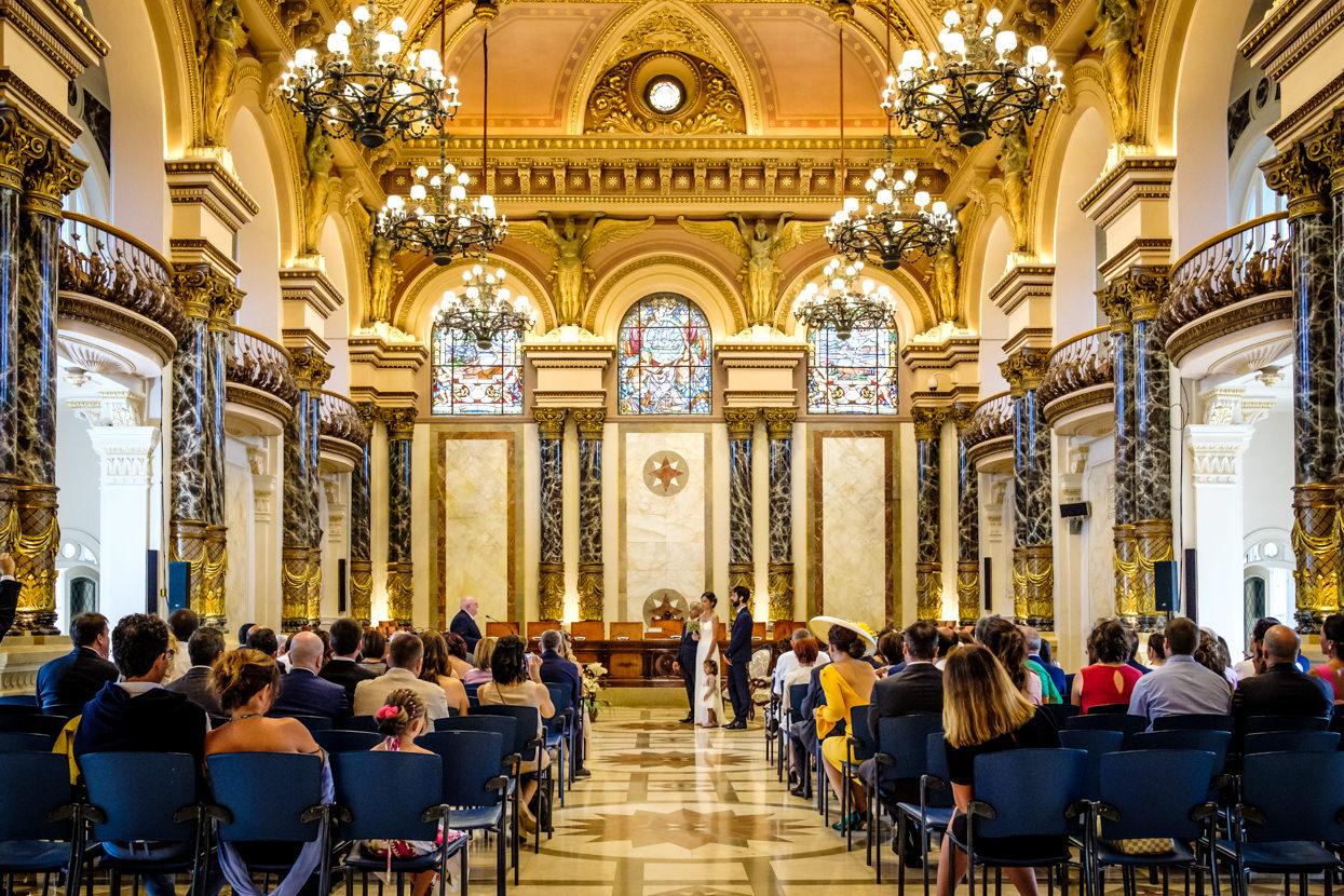 Fotógrafo de boda en Ayuntamiento de Donostia