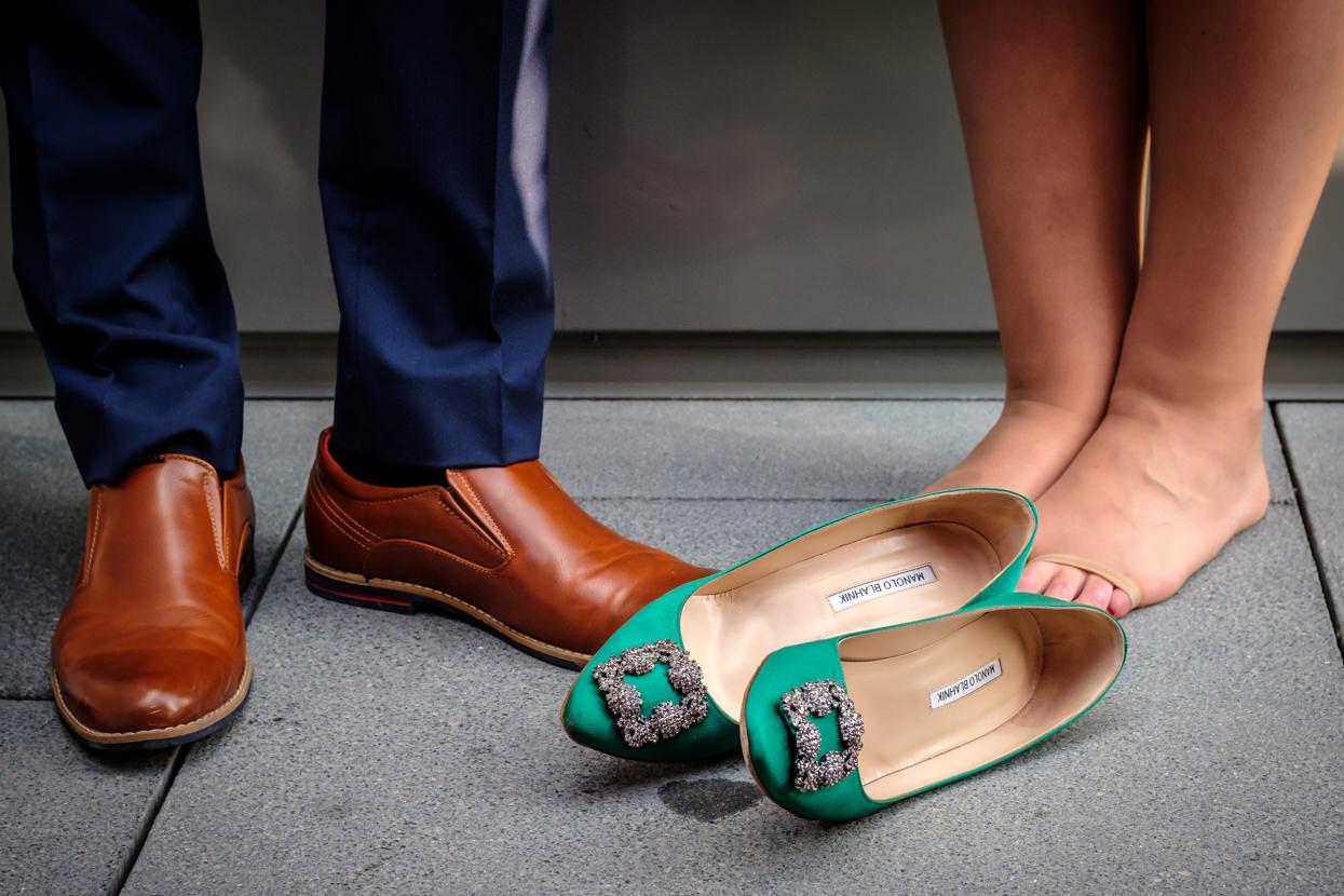 Zapatos de boda manolos