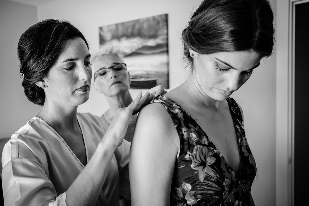 Preparativos de boda en Hondarribia y restaurante alameda