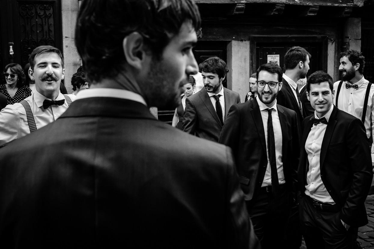 ceremonia de boda en Hondarribia