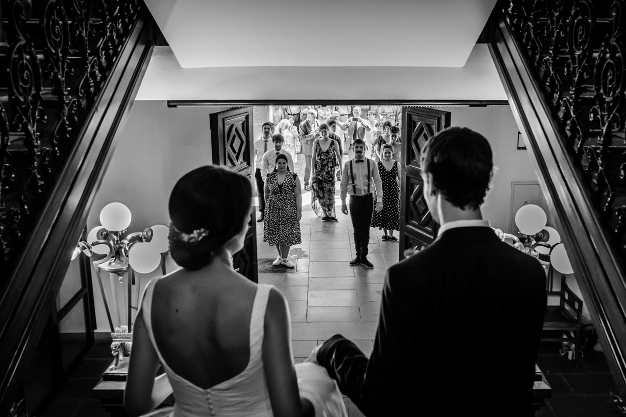 aurresku de boda en ayuntamiento de hondarribia