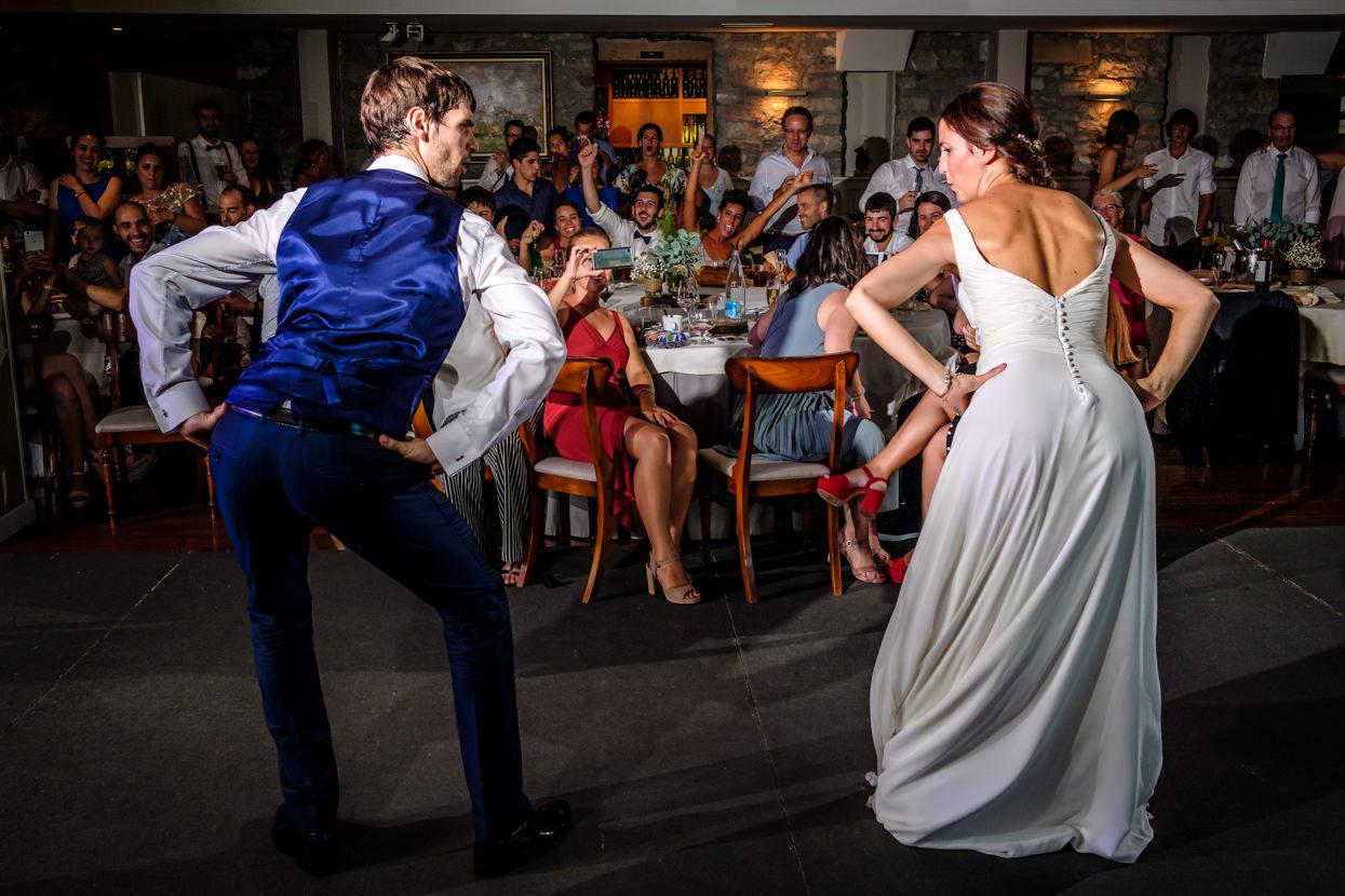 primer baile de boda en restaurante alameda