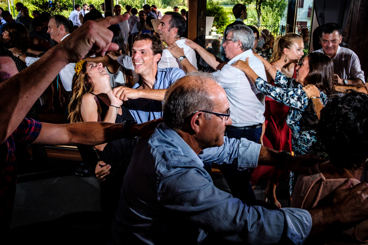 Fiesta de boda en restaurante Alameda