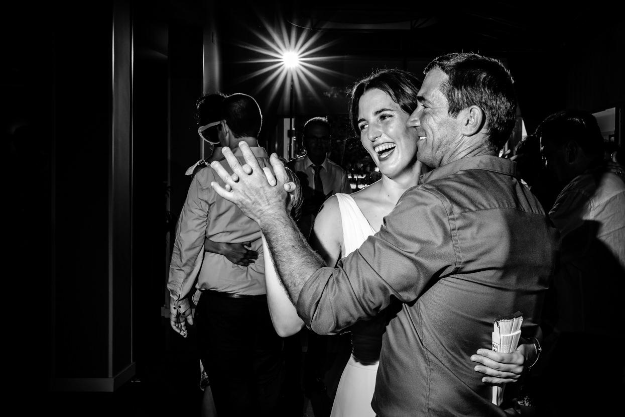 novia baila en boda en hondarribia