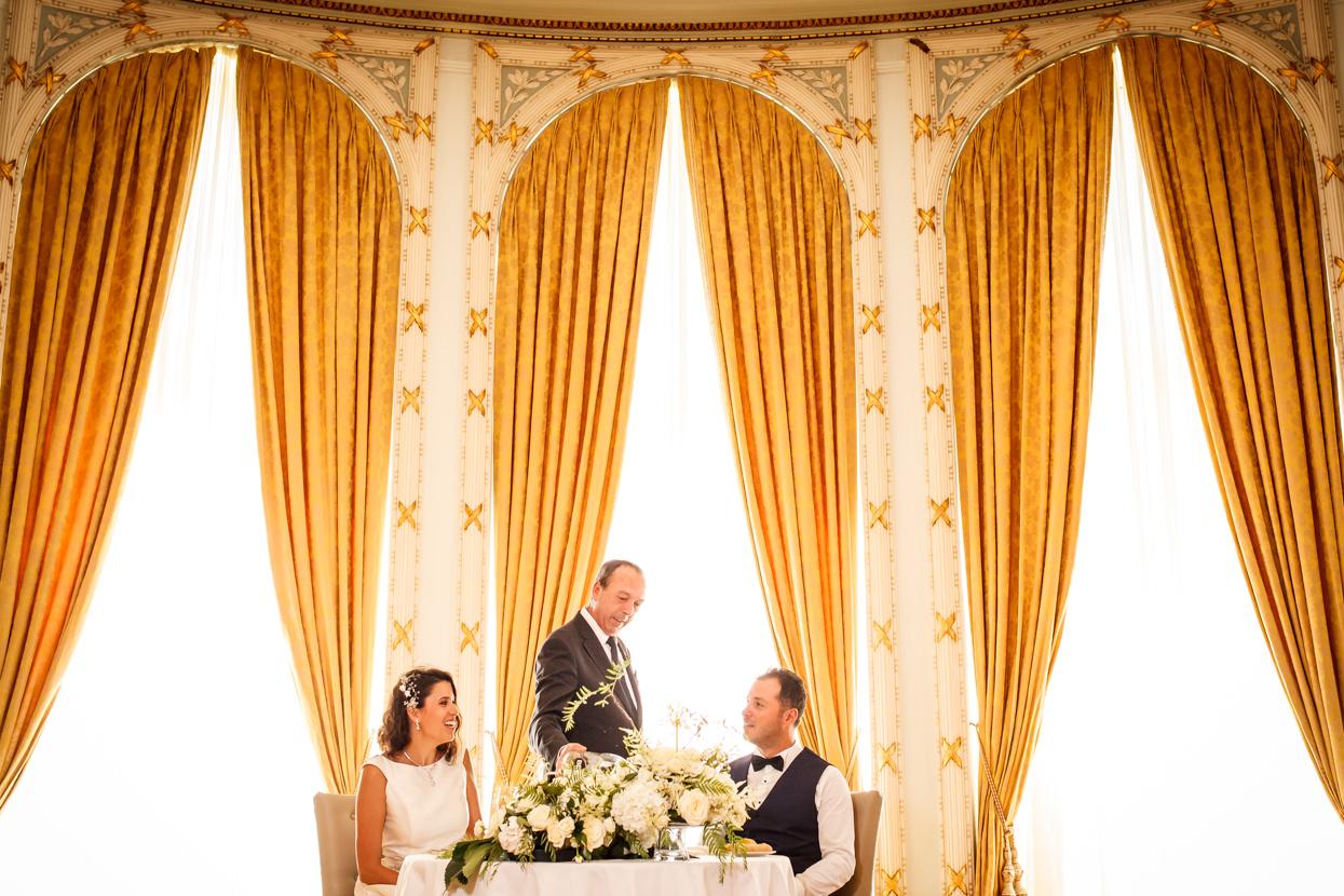 Banquete de boda en el hotel María Cristina
