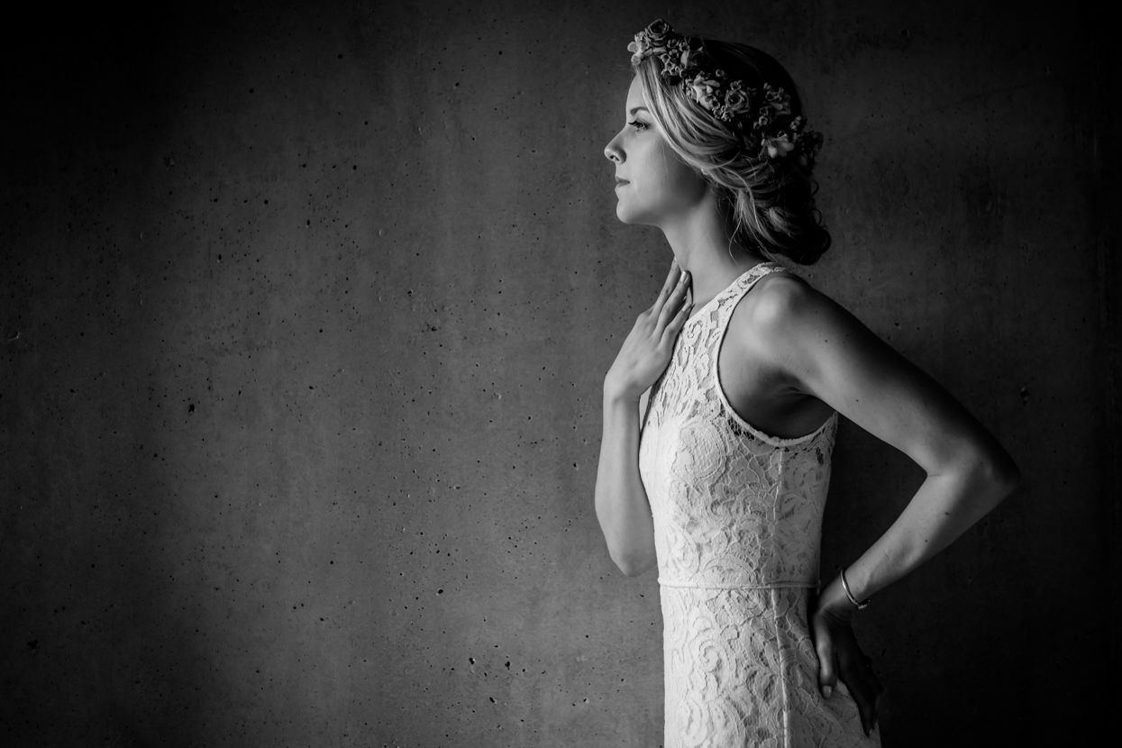 boda en donostia en igeldo retrato de novia