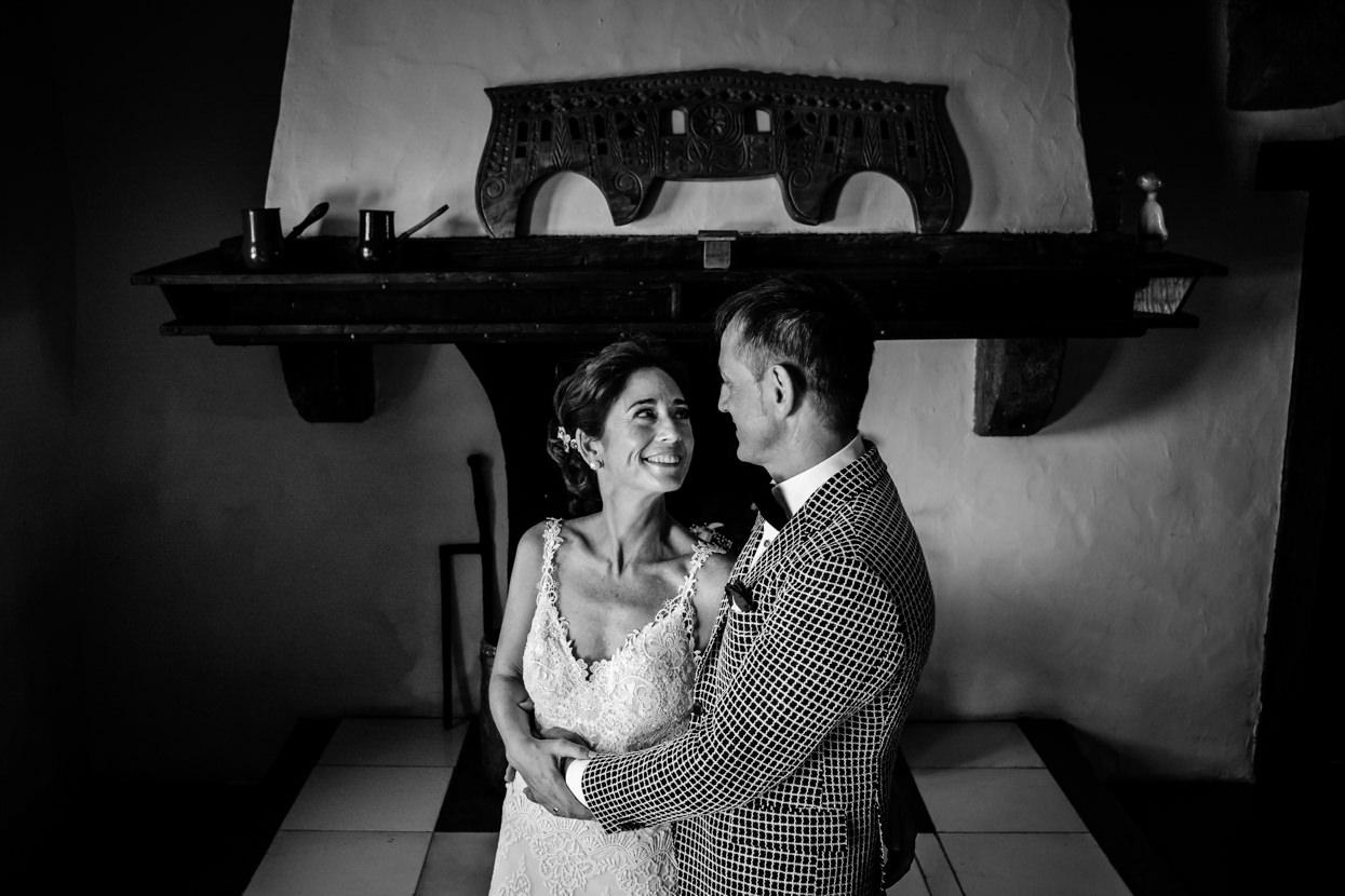 Foto de pareja en boda en Machoenia