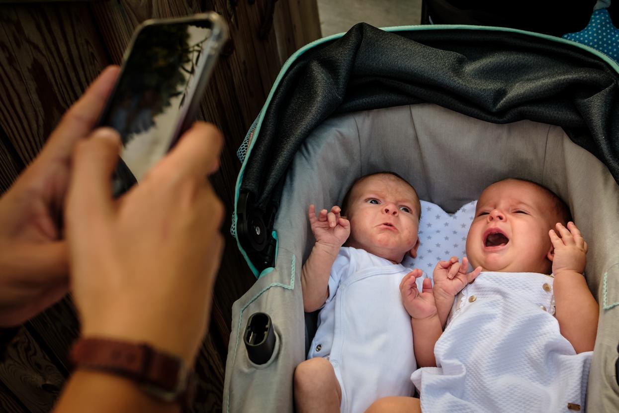 Bebés en boda en Machoenia