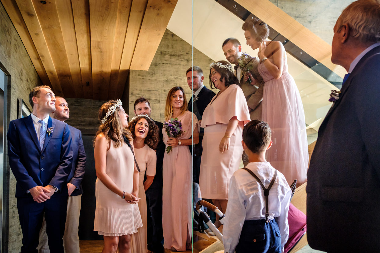 Preparativos de boda en Hika Txakolindegia