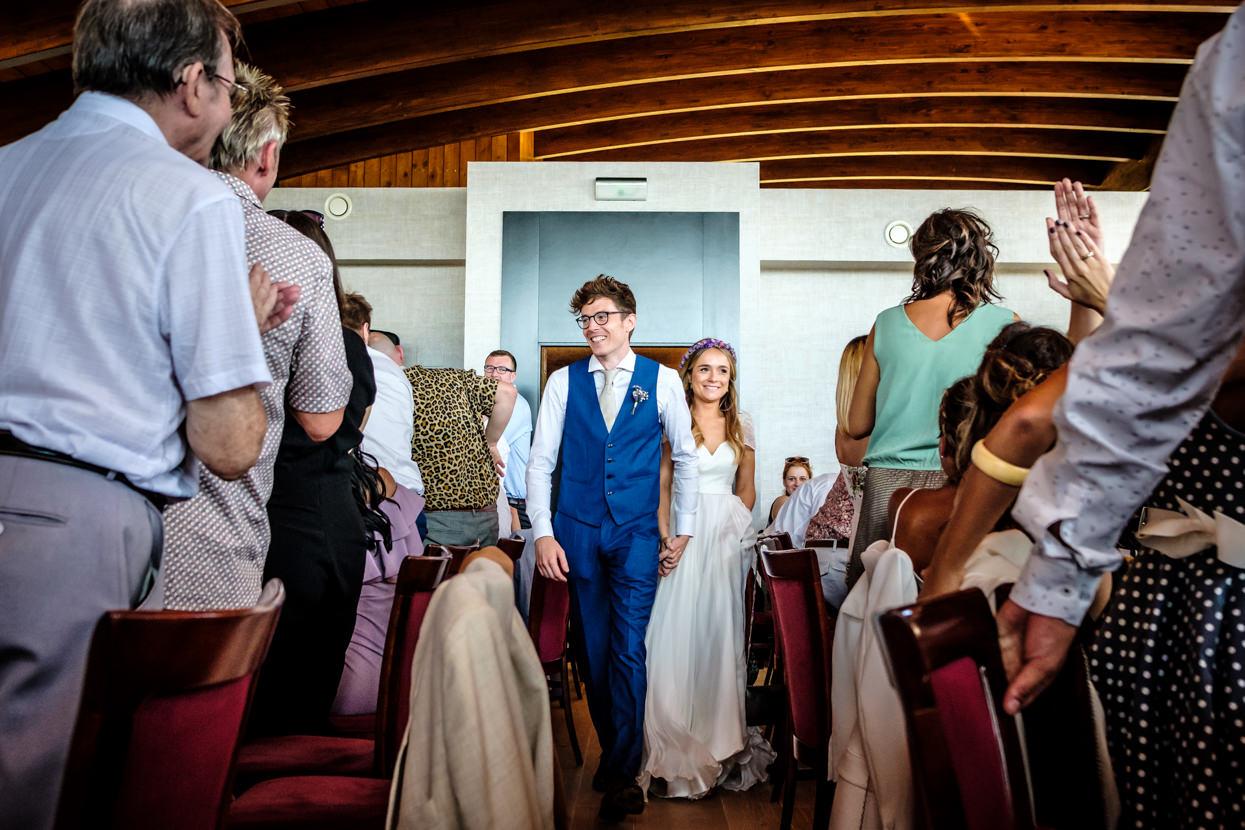 Destination wedding photographer in San Sebastian. Banquete