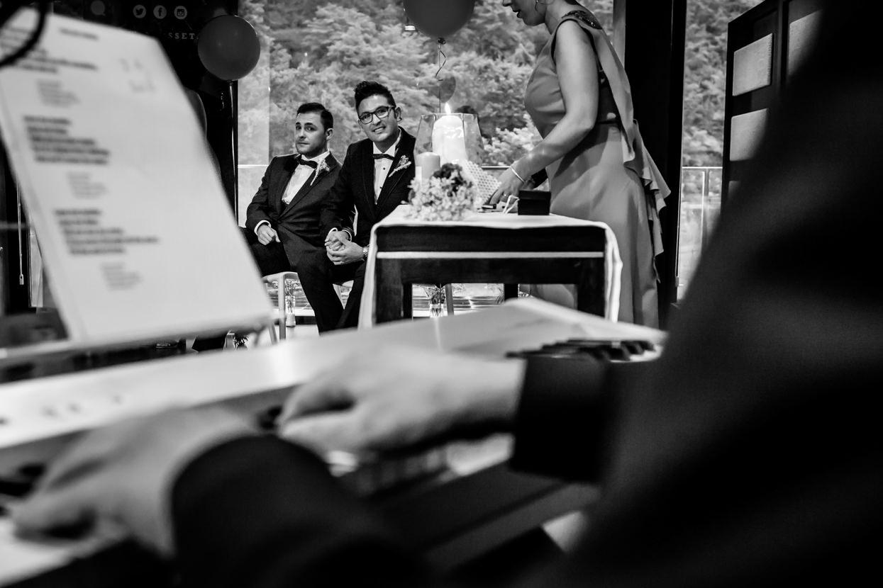 Música en directo en boda en Navarra