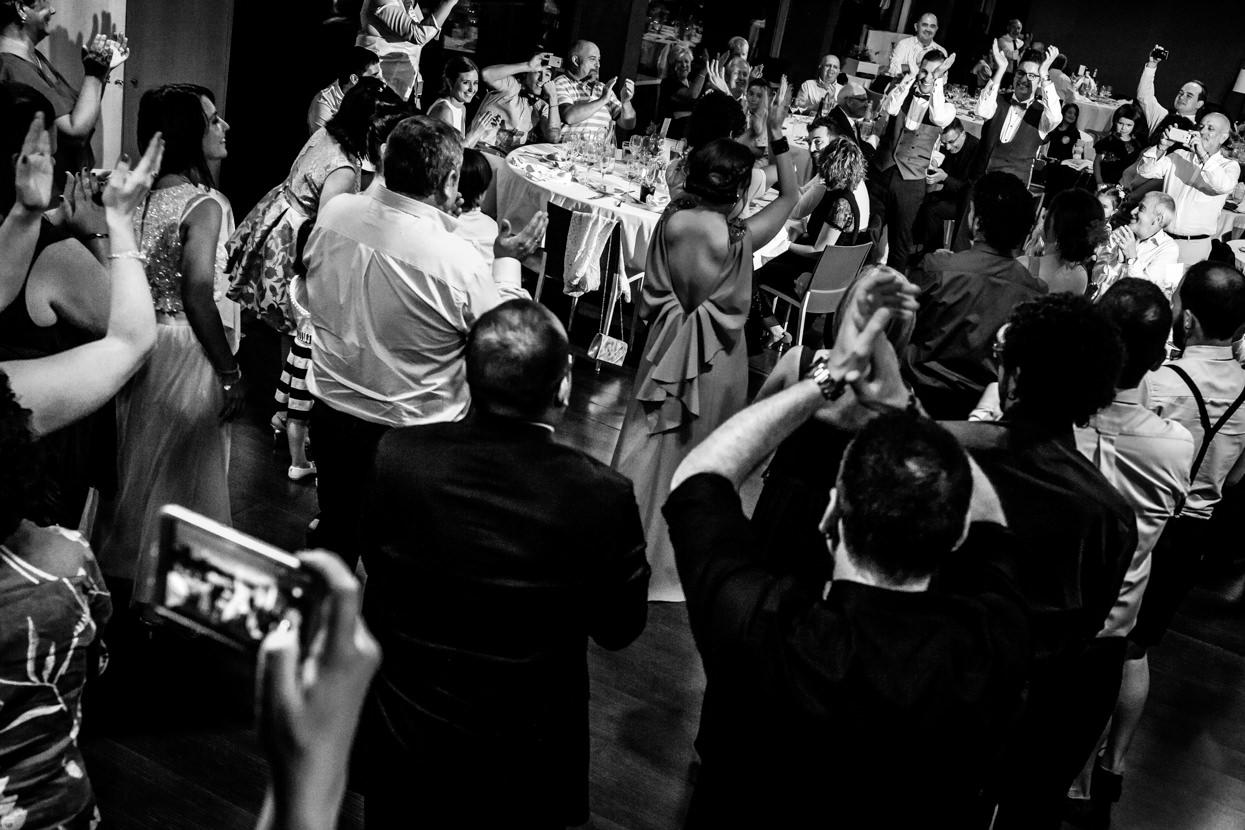 Fiesta de boda en hotel balneario Elgorriaga