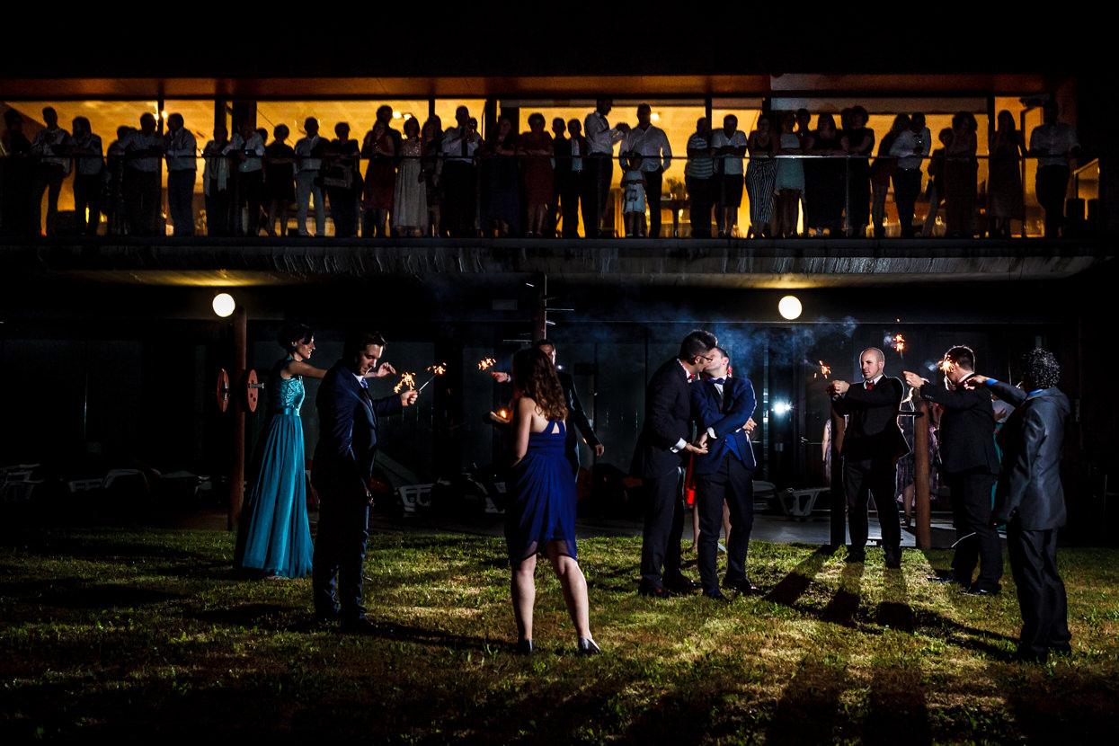 Primer baile de boda en el hotel balneario Elgorraiaga