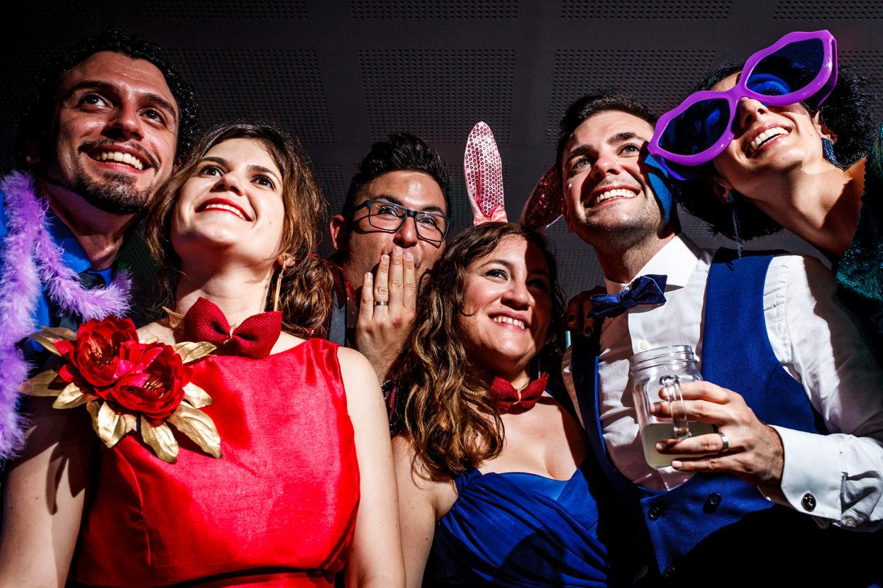 Photocall de boda en Navarra