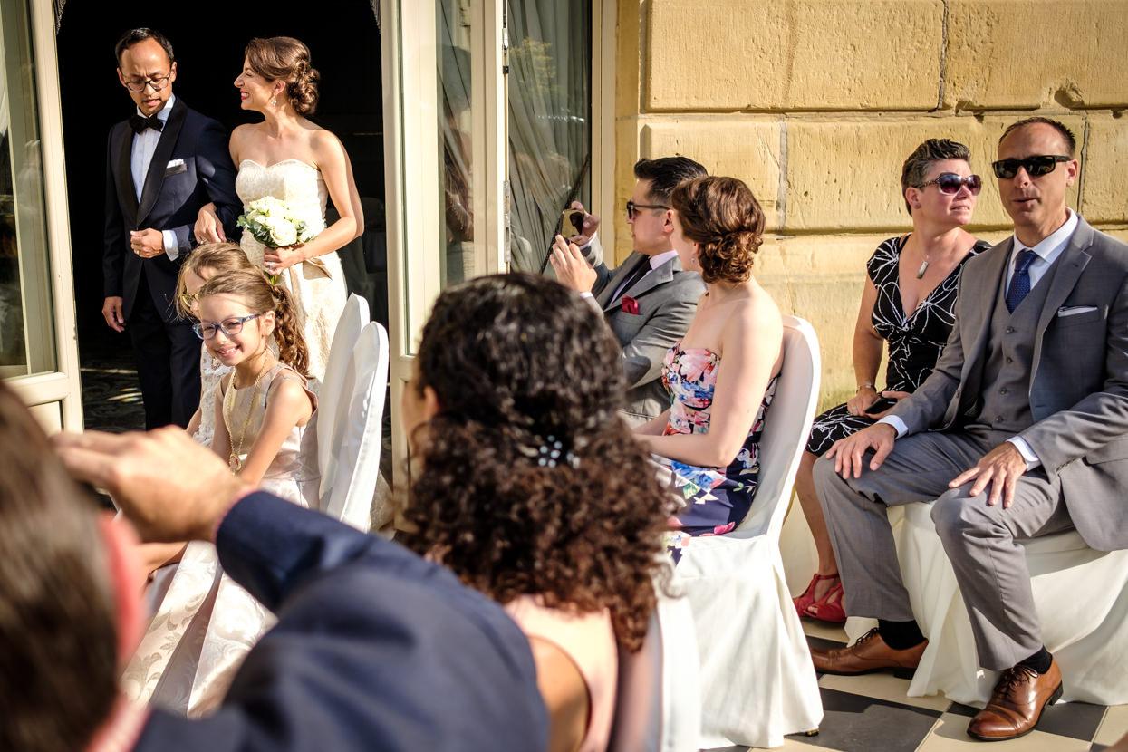 Ceremonia de boda en hotel Maria Cristina