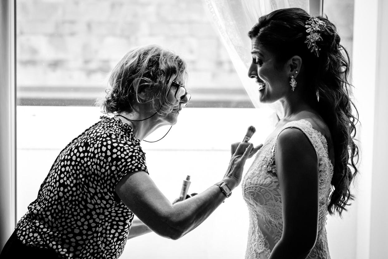 Boda en San Sebastián. Maquillaje de novia
